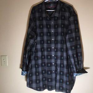 😻Robert Graham Button Up Shirt 3XL